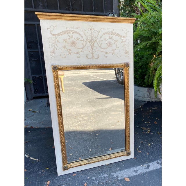 Palladio Hollywood Regency Trumeau Mirror