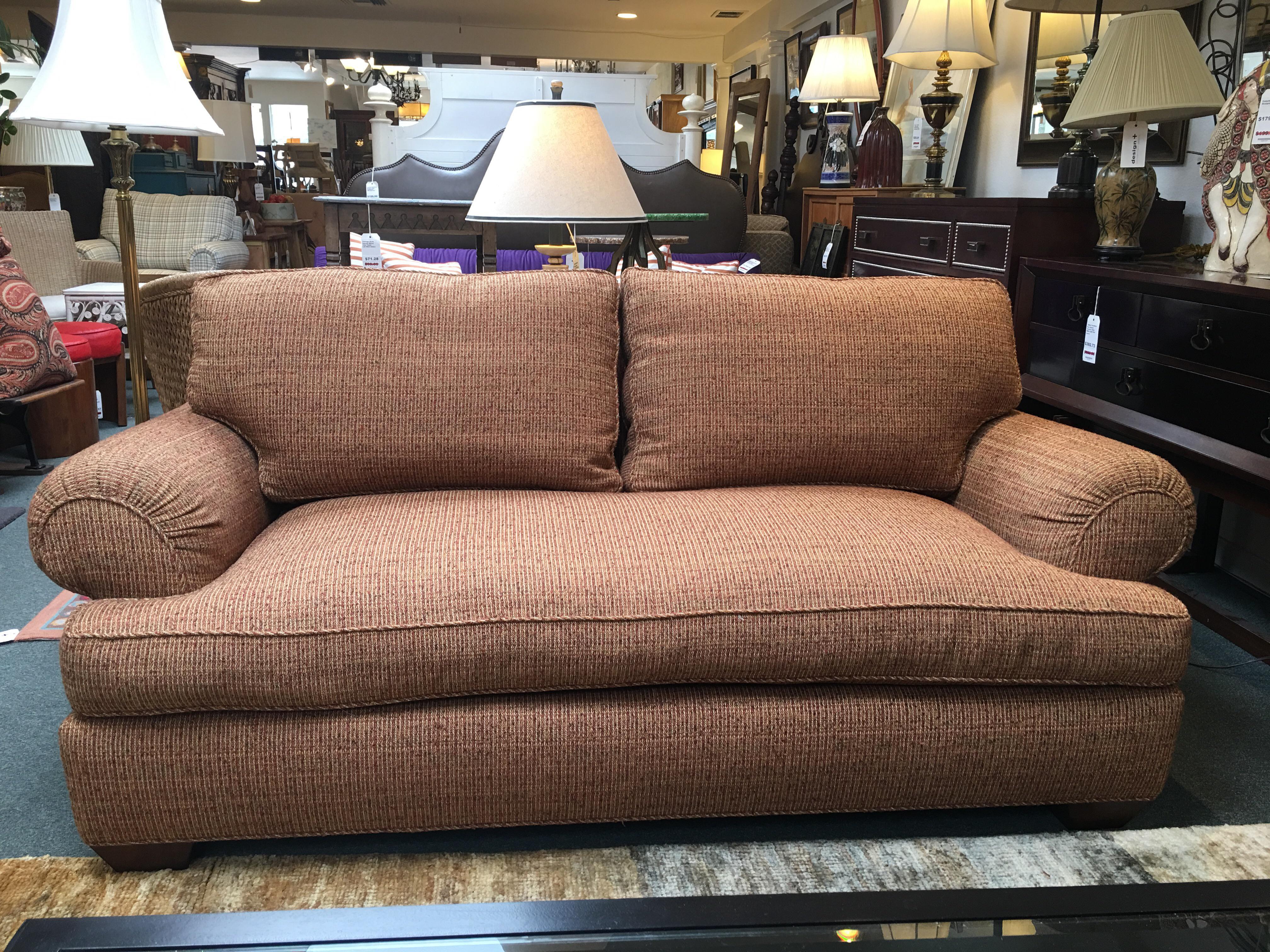 A. Rudin Down Multi Colored Sofa   Image 2 Of 9