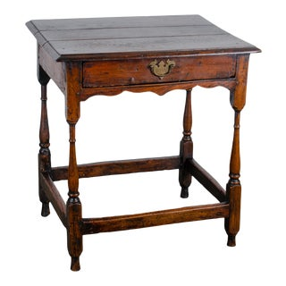 18th Century William and Mary Tavern Table For Sale
