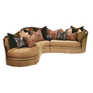 Traditional Italian Inspired Sofa For Sale