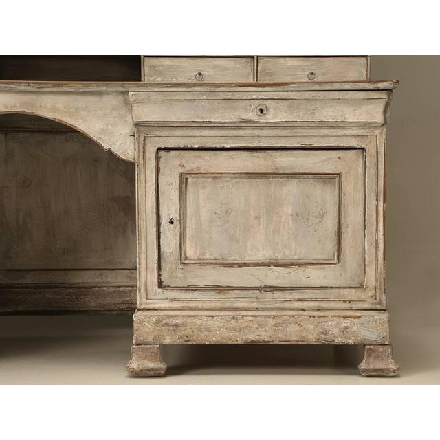 Early 19th Century Antique French Bookcase and Desk For Sale - Image 5 of 10