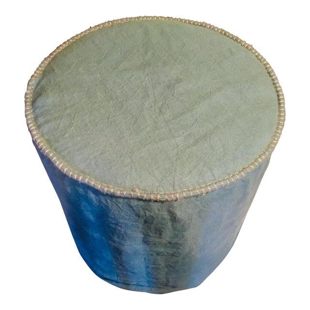 Linen Slipcovered Stools For Sale