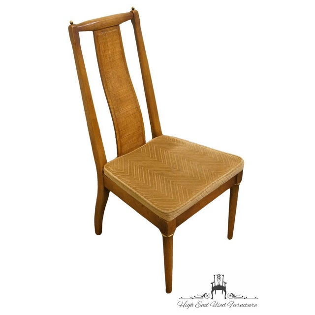 This is a vintage American of Martinsville side or dining chair. The piece is from the late 20th century.