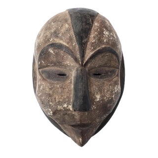 """African Bamileke Mask Cameroon 12.5"""" H For Sale"""