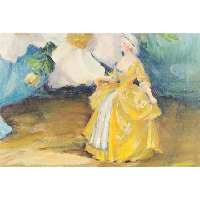"Mary Purdum ""Big White Flowers"" Painting - Image 7 of 10"