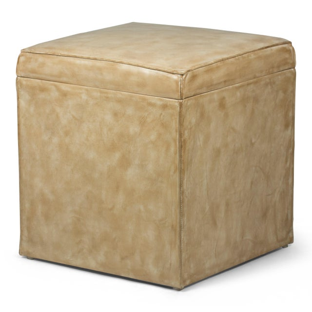 Estimated retail price: $555. This unassuming item is so versatile. Sit on it. Store things in it. Use it as a foot rest....