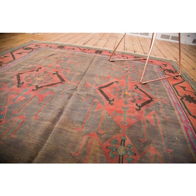 "Vintage Turkish Kilim Carpet - 6'1"" x 7'9"" - Image 5 of 5"