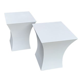 1970s Mid-Century Modern End Tables - a Pair For Sale