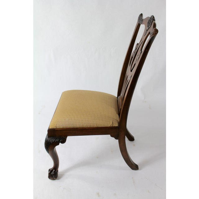 Chippendale Style Dining Chairs - Set of 8 For Sale - Image 4 of 11