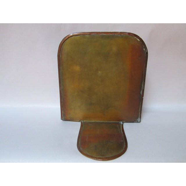 Arts & Crafts Copper Bookends - A Pair For Sale - Image 5 of 9