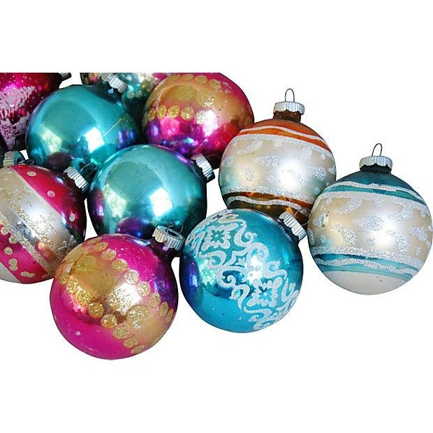 1960s Christmas Holiday Ornaments - Set of 12 - Image 3 of 5