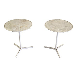 1950s Mid-Century Modern Vladimir Kagan Capricorn Side Table - a Pair For Sale