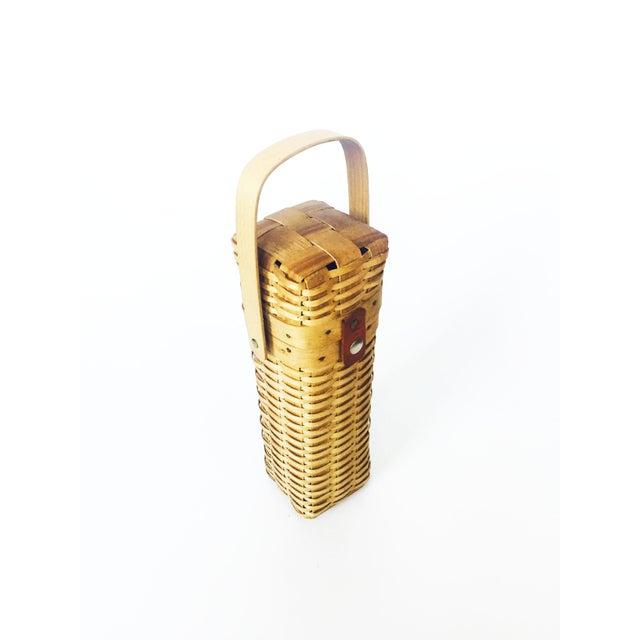 Vintage Wine Basket - Image 4 of 6