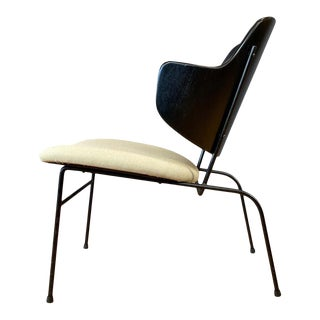 Ib Kofod-Larsen Penguin Lounge Chair, Rare Low Version, 1950s For Sale