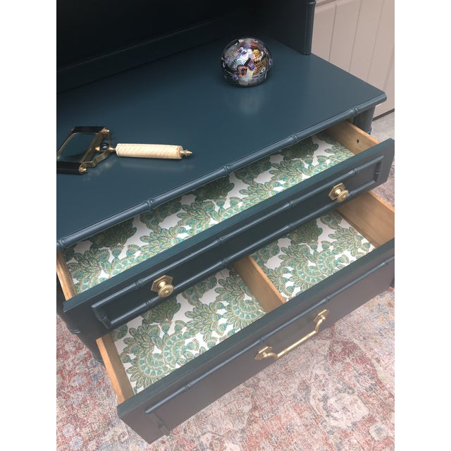 Vintage Thomasville Bachelors Chest With Shelf For Sale - Image 9 of 11