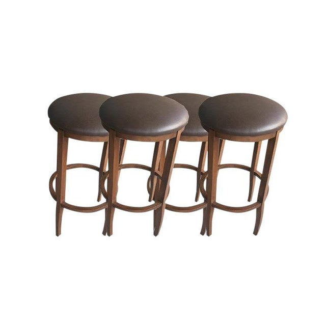 "Gray Custom to Order ""Belly Up to the Bar"" Collection Stools For Sale - Image 8 of 8"