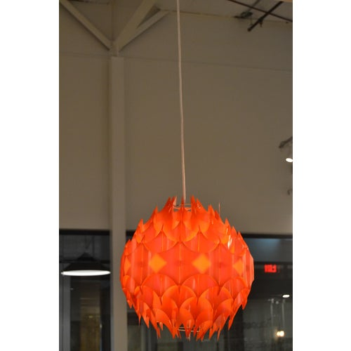 Mid-Century Pendant, France For Sale - Image 9 of 11