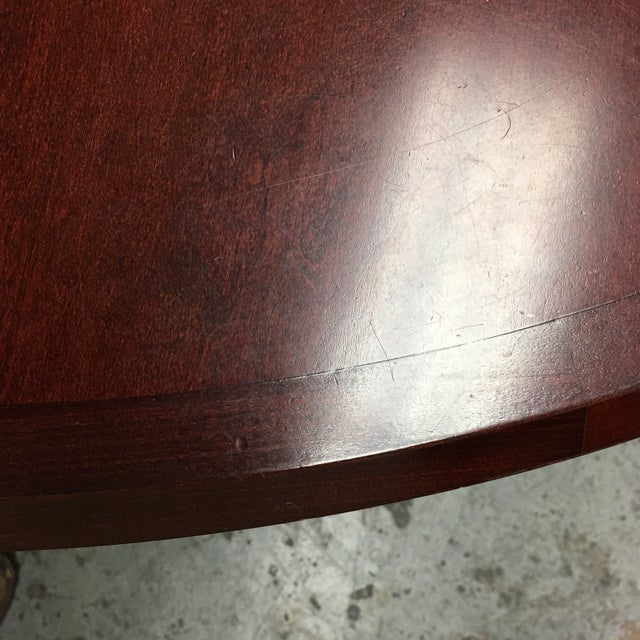 Custom Lana Round Maple Table For Sale In San Francisco - Image 6 of 7