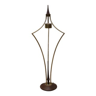 Large Vintage Mid-Century Modern Modeline Pearsall Style Table Lamp For Sale