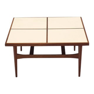 Mid-Century Modern Square Coffee Table For Sale