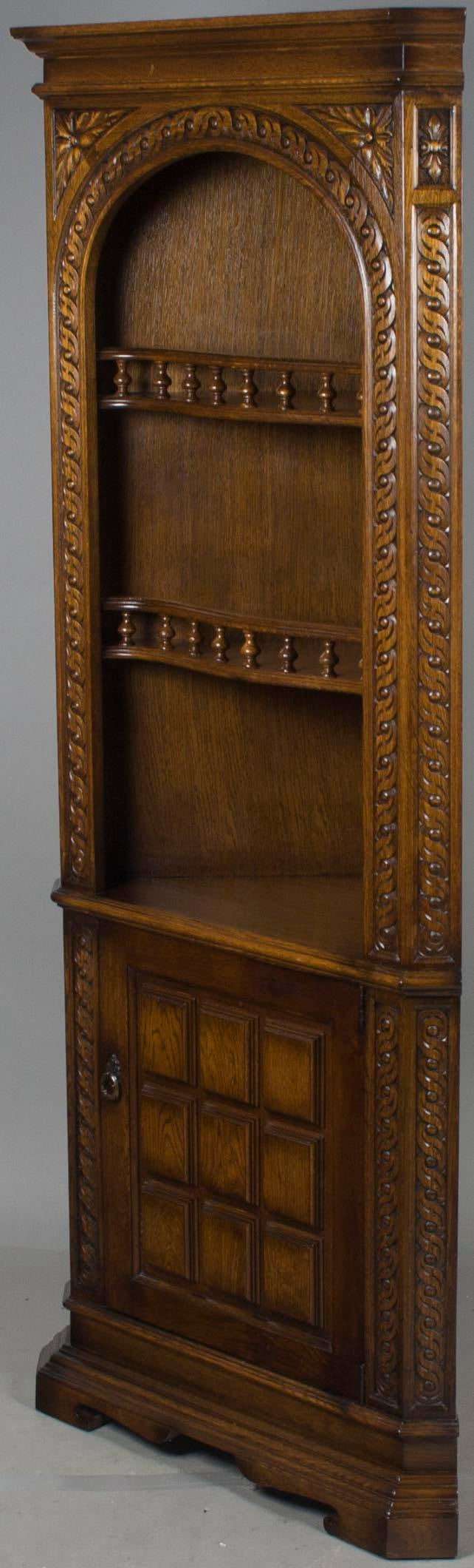 This Stunning Corner Hutch Was Made In England Around The Year 1980. The  Arched,
