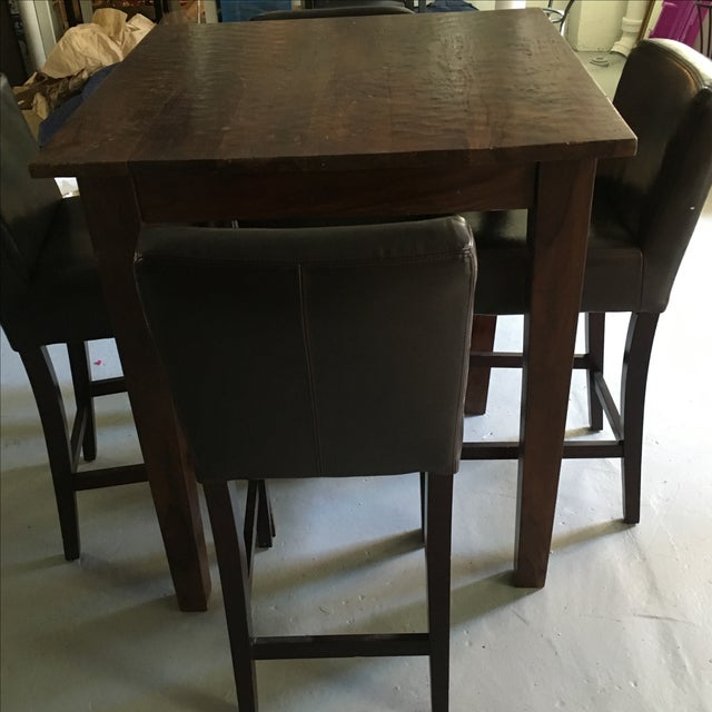 Provence Pub Table With Henry Pub Stools - Image 3 of 5