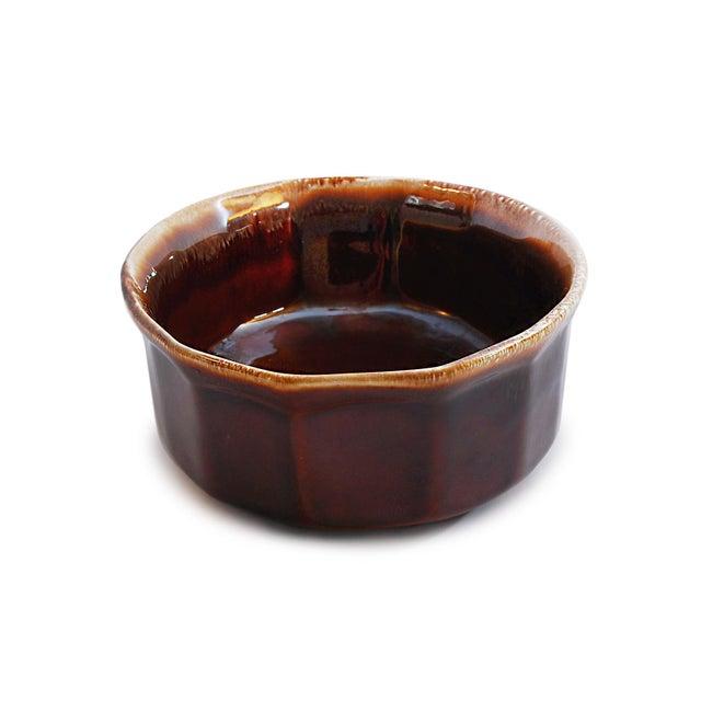 McCoy USA Brown Drip Glaze Oval Serving Dish - Image 3 of 4