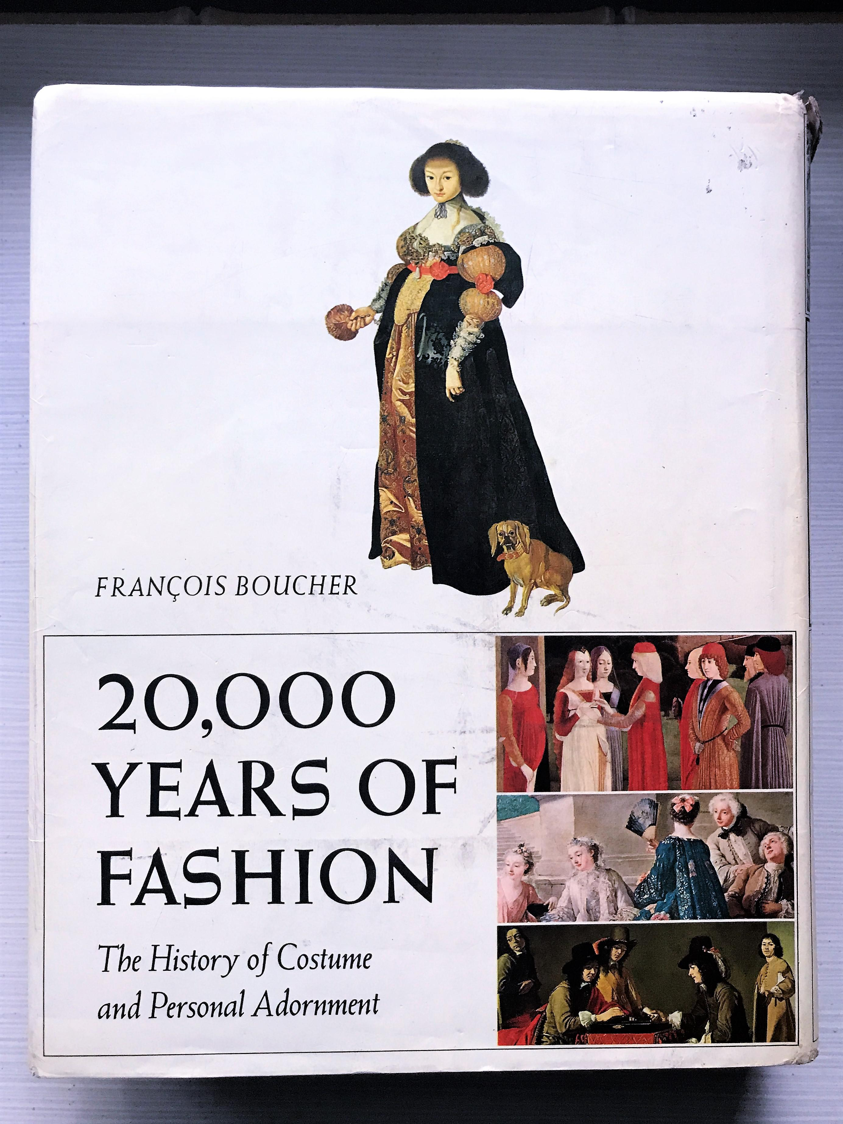 1st Edition Hardcover Book  20000 Years of Fashion The History of Costume and Personal  sc 1 st  Chairish & 1st Edition Hardcover Book