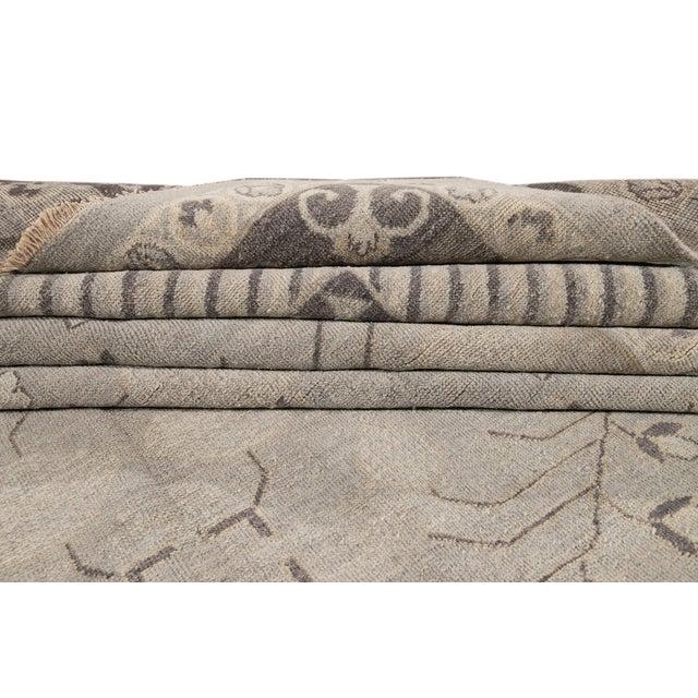 21st Century Modern Kohtan Wool Rug For Sale - Image 4 of 13