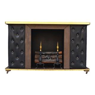 1960s Vintage Freestanding Bar Fireplace For Sale