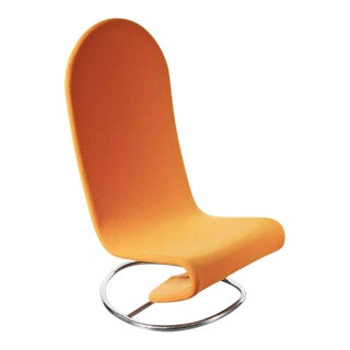 Rare Verner Panton 1-2-3 Rocking Easy Chair, circa 1970