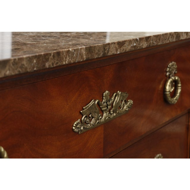 Henredon Henredon Historic Natchez Collection Chest of Drawers For Sale - Image 4 of 11
