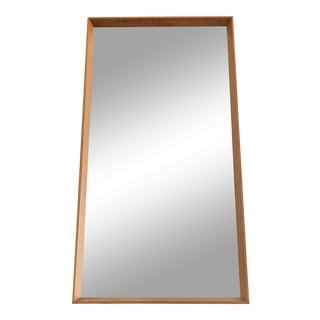 Danish Teak Wall Mirror For Sale