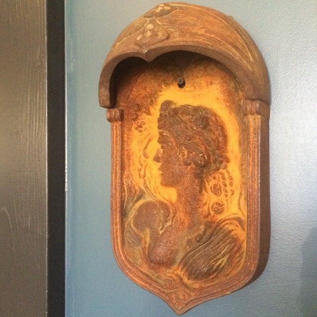 Art Nouveau Wall Plaques - Pair - Image 5 of 11
