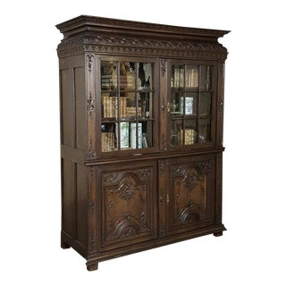 18th Century French Louis XIV Bookcase ~ Vitrine For Sale