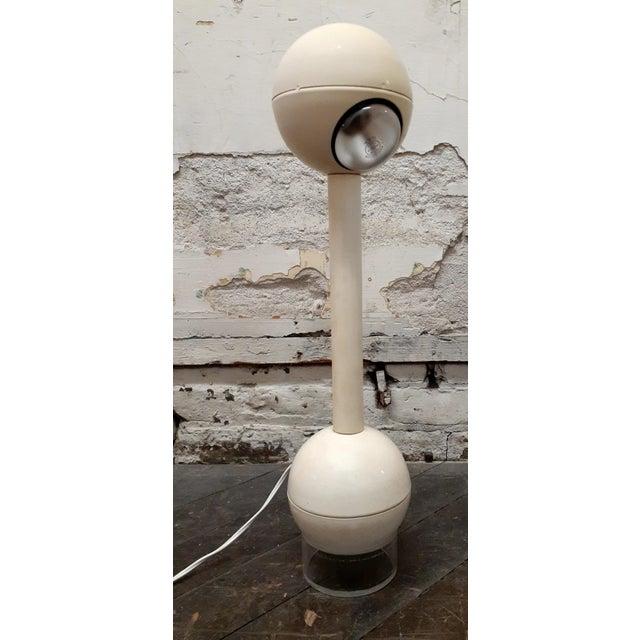 "George Kovacs John Mascheroni Design ""Barbell"" Mid-Century Modern Table Lamp For Sale - Image 11 of 11"
