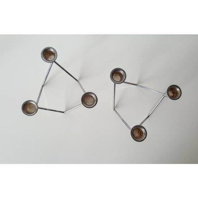 Georg Jensen Sculptural Candelabras - A Pair - Image 4 of 6