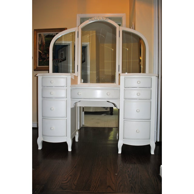 Pottery Barn Teen Lilac Vanity For Sale In Washington DC - Image 6 of 9