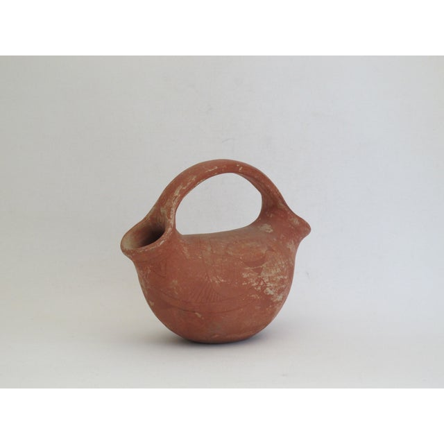 Native American Style Two Sided Vessel - Image 2 of 6