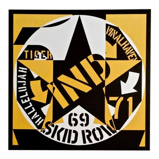 Robert Indiana 69 Skid Row 1973 For Sale