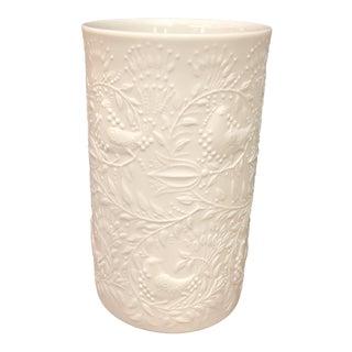 Bjorn Wiinblad for Rosenthal White Matte Vase For Sale