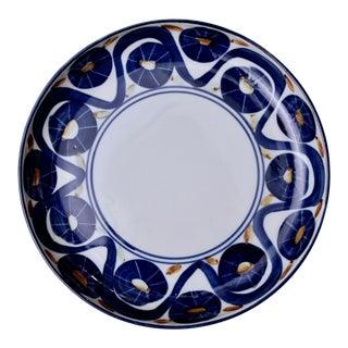 """13"""" Dia. Dansk Blue Platter From Japan For Sale"""