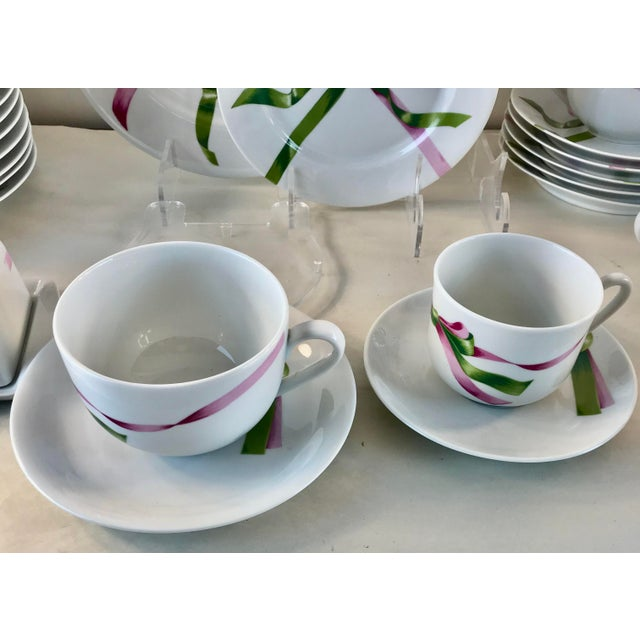 Vintage Jacques Coeur Dinnerware-Set of 49 For Sale - Image 9 of 13