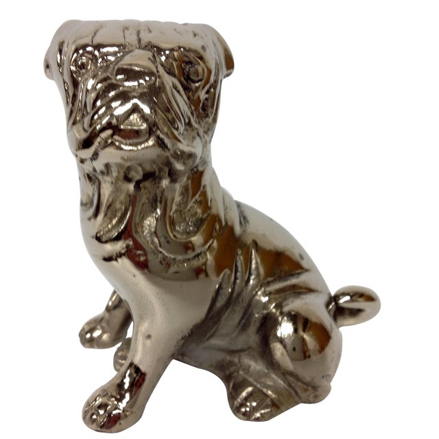 1930s Chromed English Bulldog - Image 1 of 6