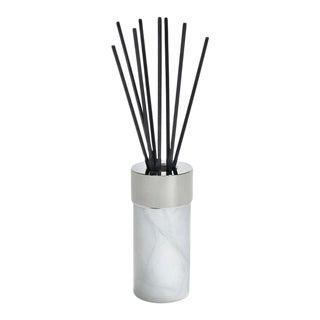 La Cire Diffuser, Alabaster & Silver For Sale