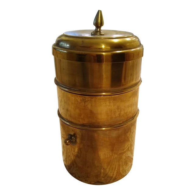 Chinese Brass Tiffin Meal Container For Sale