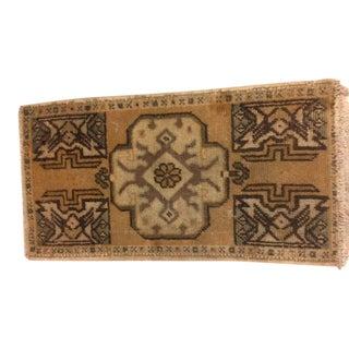 Handwoven Turkish Carpet - 1′6″ × 2′11″ For Sale