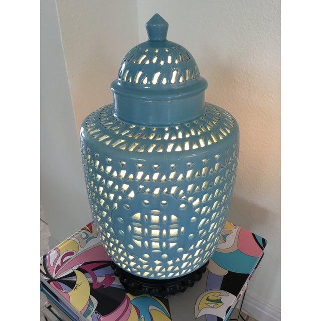 1950s Blanc De Chine Jar Lamp - Image 7 of 10