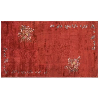 """1930s Chinese Art Wool Rug - 10'x17'6"""""""