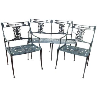 Patio Set by Molla Diana the Huntress Pattern on Hold For Sale